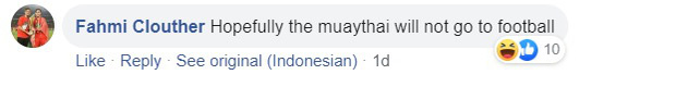 Cầu thủ Indonesia giành HCĐ võ Muay Thai SEA Games 30 rồi bày tỏ mong muốn trở lại bóng đá, fan kêu gọi anh chàng tôn trọng hàm răng của đồng nghiệp - Ảnh 7.