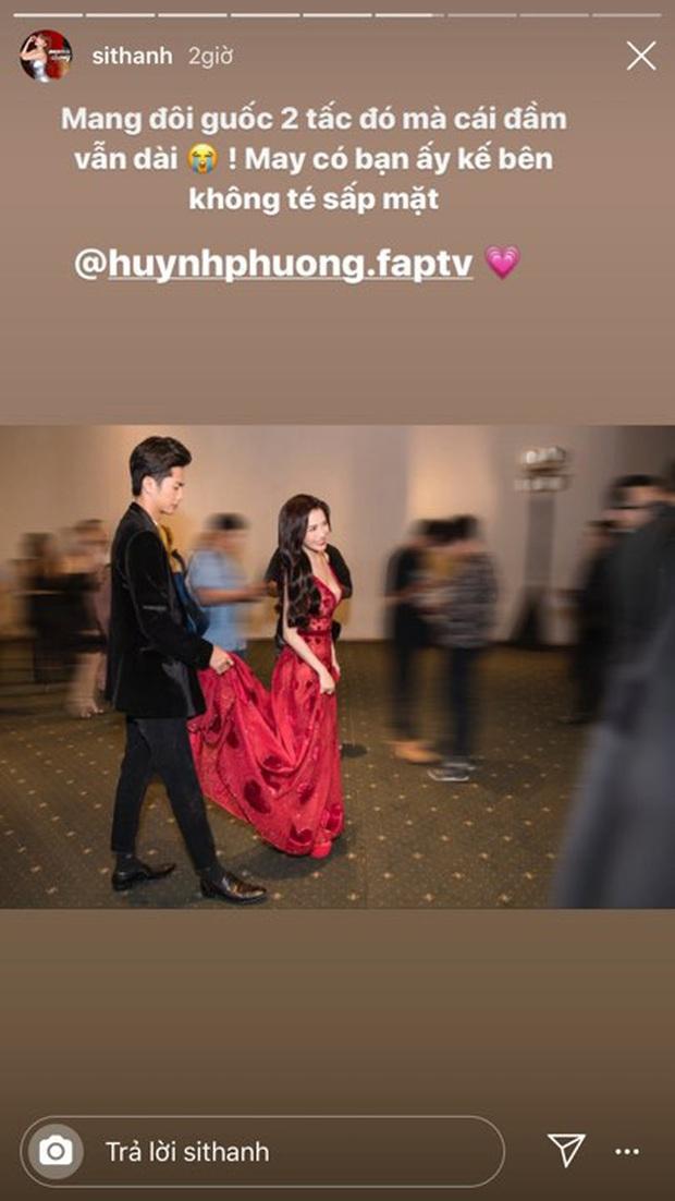 Học tập Trường Giang, Huỳnh Phương ghi điểm với khoảnh khắc nâng váy cho người yêu tại sự kiện - Ảnh 2.