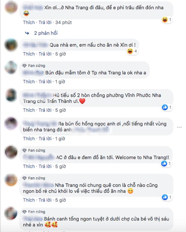 """Đăng đàn hỏi fan 500 địa chỉ ăn ngon ở Nha Trang, Trấn Thành nhận về hàng tá gợi ý """"xịn sò"""" hữu ích cho dân du lịch - Ảnh 9."""