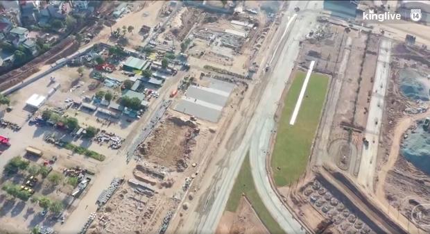 Clip: Toàn cảnh đại công trường đường đua F1 tại Hà Nội từ trên cao trước khi đi vào hoạt động - Ảnh 2.