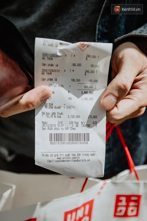 Các tín đồ Sài thành shopping tại UNIQLO sáng nay: Bill vài ba triệu là bình thường, khen nức nở nhưng vẫn có góp ý cho thương hiệu Nhật - Ảnh 2.