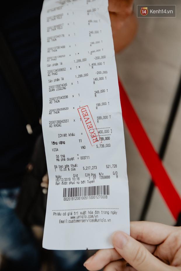 Các tín đồ Sài thành shopping tại UNIQLO sáng nay: Bill vài ba triệu là bình thường, khen nức nở nhưng vẫn có góp ý cho thương hiệu Nhật - Ảnh 4.
