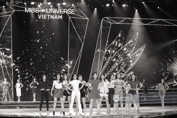 Thu Minh, Trọng Hiếu diễn cực sung, cùng HHen Niê và dàn thí sinh tổng duyệt trước giờ G chung kết Hoa hậu Hoàn vũ - Ảnh 2.