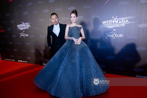 Thảm đỏ WebTVAsia Awards 2019: Nhã Phương, Chi Pu đồng loạt khoe vai thon gợi cảm, cùng dàn nghệ sĩ châu Á tự tin khoe sắc - Ảnh 5.