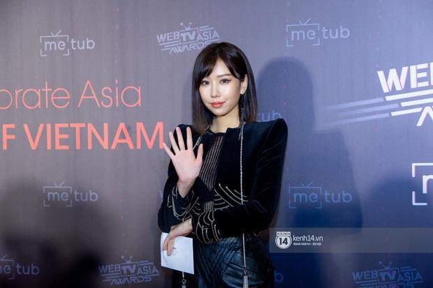Thảm đỏ WebTVAsia Awards 2019: Nhã Phương, Chi Pu đồng loạt khoe vai thon gợi cảm, cùng dàn nghệ sĩ châu Á tự tin khoe sắc - Ảnh 7.