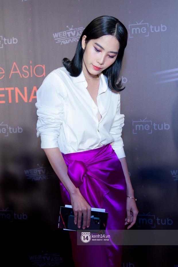 Thảm đỏ WebTVAsia Awards 2019: Nhã Phương, Chi Pu đồng loạt khoe vai thon gợi cảm, cùng dàn nghệ sĩ châu Á tự tin khoe sắc - Ảnh 12.