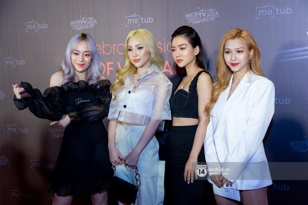 Thảm đỏ WebTVAsia Awards 2019: Nhã Phương, Chi Pu đồng loạt khoe vai thon gợi cảm, cùng dàn nghệ sĩ châu Á tự tin khoe sắc - Ảnh 11.