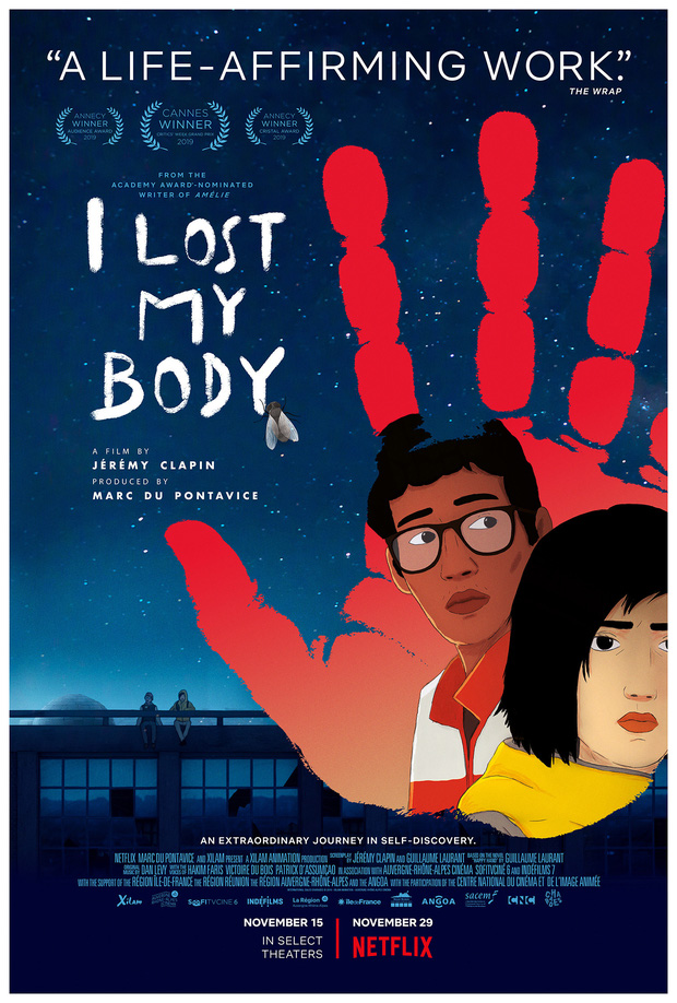 Kể chuyện bàn tay đứt rời tìm lại chủ nhân, I Lost My Body là phim hoạt hình hay nhất năm 2019 - Ảnh 1.
