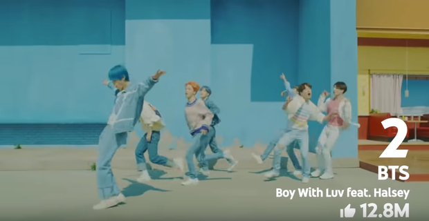 YouTube Rewind công bố 10 MV nhiều lượt like nhất 2019: BTS, BLACKPINK đều chịu thua cặp đôi friendzone, MV solo của J-Hope vừa ra 3 tháng đã lọt top - Ảnh 18.