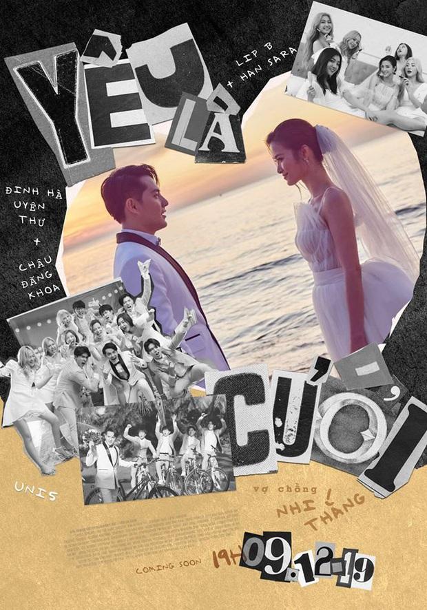 Tung teaser MV Yêu Là Cưới, khoảnh khắc đã nghiện còn ngại của Đông Nhi trước chú rể Ông Cao Thắng gây bão - Ảnh 2.