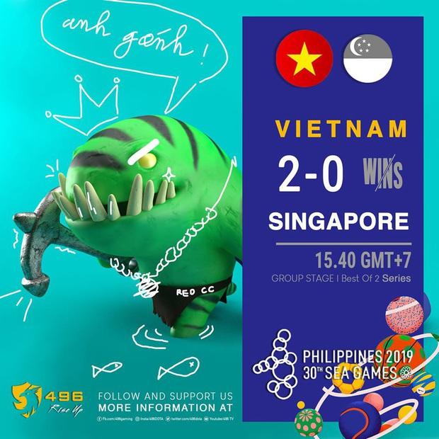 Hạ gục Thái Lan ở loạt trận tie-break, 496 chắc chắn sẽ mang về huy chương SEA Games cho đoàn eSports Việt Nam - Ảnh 3.