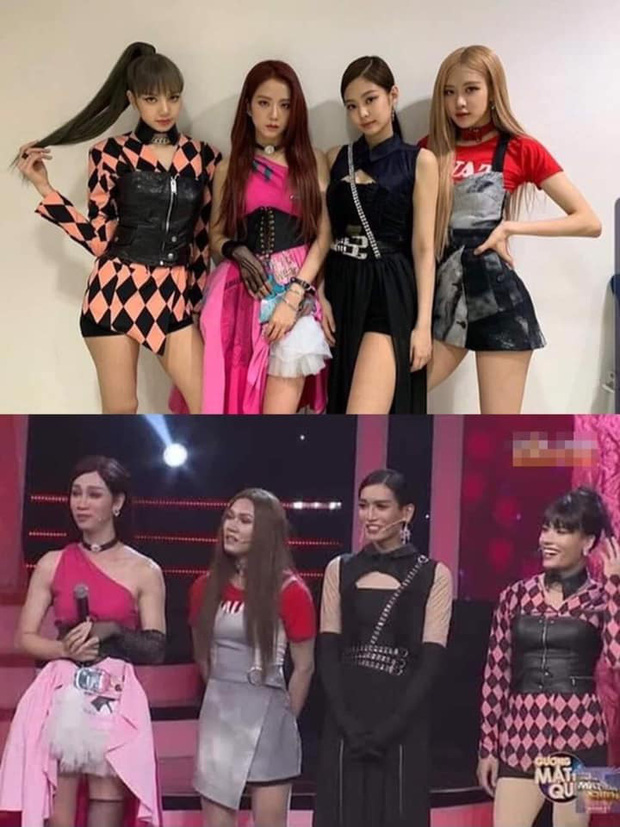 Kill This Love phiên bản đô con: BB Trần Jennie siêu thần thái, Hải Triều Jisoo chẳng hát câu nào còn main dancer Lisa thì loạng choạng trên sân khấu - Ảnh 6.