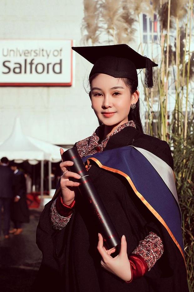 Hoa hậu Lê Âu Ngân Anh bất ngờ tốt nghiệp Thạc sĩ, khoe trình tiếng Anh vượt bậc sau thảm họa giọng điệu chảy nước năm xưa - Ảnh 5.