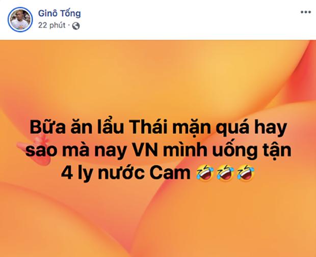 Sau khi đã cho dân tình ăn chán lẩu Thái, đội tuyển Việt Nam liền mang đến ngay một món mới: Cam ép! - Ảnh 2.