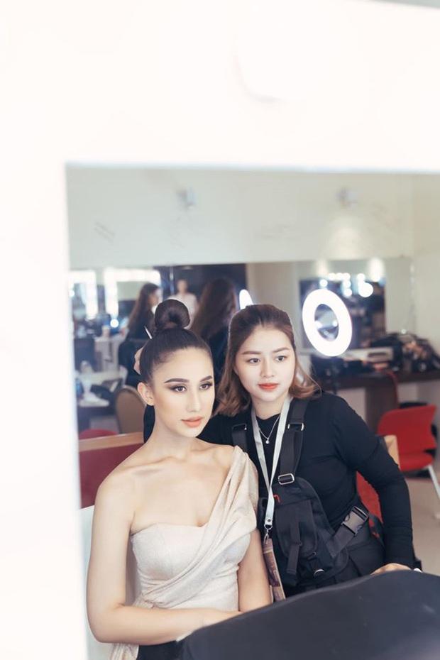 Đột nhập hậu trường Hoa hậu Hoàn vũ Việt Nam trước giờ G chung kết: Top 45 đã sẵn sàng bùng nổ để chinh phục vương miện - Ảnh 5.
