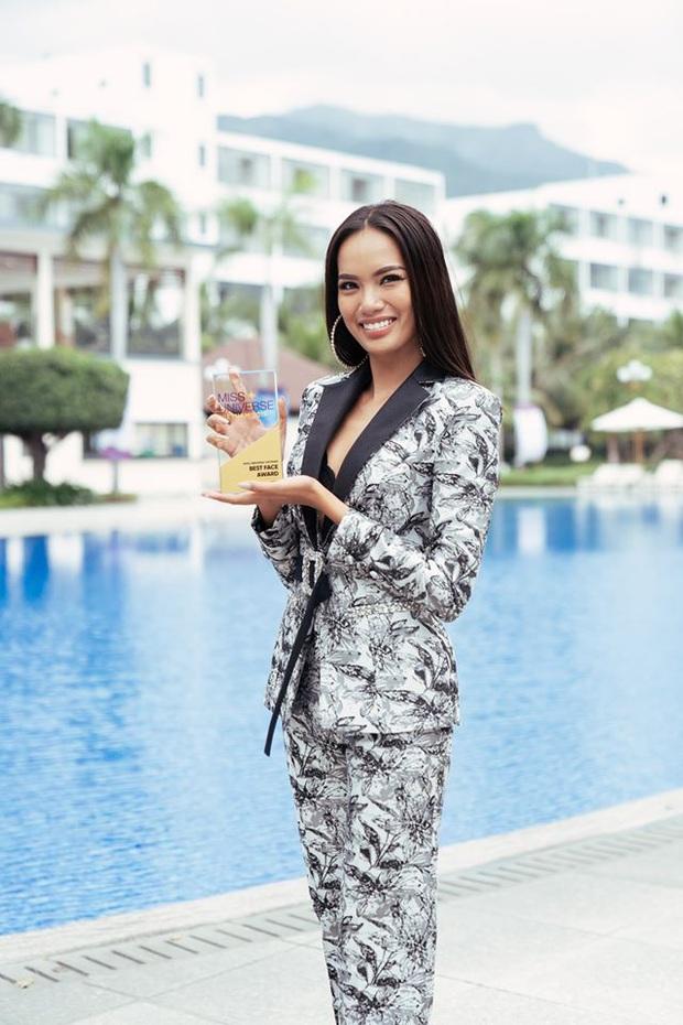 Lê Hoàng Phương thắng giải Best Face - ứng cử viên 5000 máu cho ngôi vị Hoa hậu tối nay đã lộ diện! - Ảnh 2.