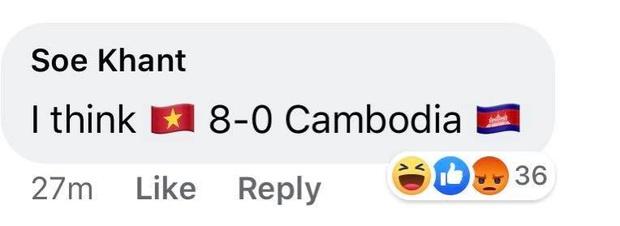 Đè bẹp Campuchia, U22 Việt Nam khiến fan bóng đá khu vực bất bình: Các bạn đá như đá tập - Ảnh 4.