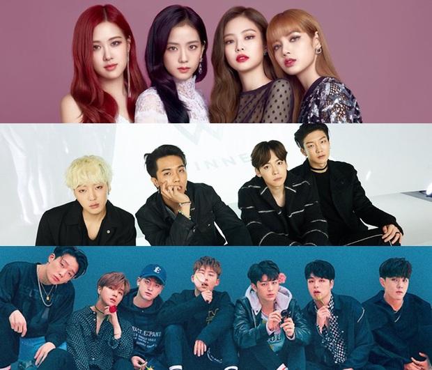 """Cục diện Kpop 2019: Lễ trao giải biến thành sân chơi BTS và những người bạn trong khi Big 3 lặn mất tăm, cán cân quyền lực không còn nghiêng về """"ông lớn""""? - Ảnh 18."""