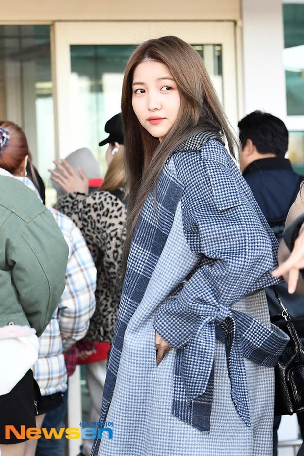 Quân đoàn sao Hàn đổ bộ sân bay: Jihyo có biểu hiện đáng lo hậu tin đồn chia tay, Krystal sang chảnh ngút ngàn - Ảnh 24.
