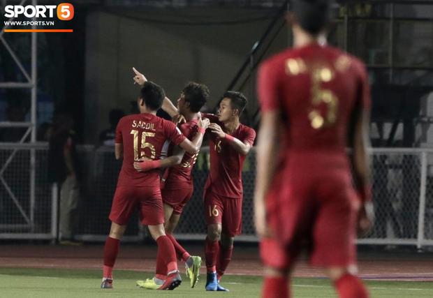 U22 Indonesia 4-2 U22 Myanmar: Đánh bại Myanmar, Indonesia hẹn Việt Nam tại trận chung kết SEA Games 30 - Ảnh 7.