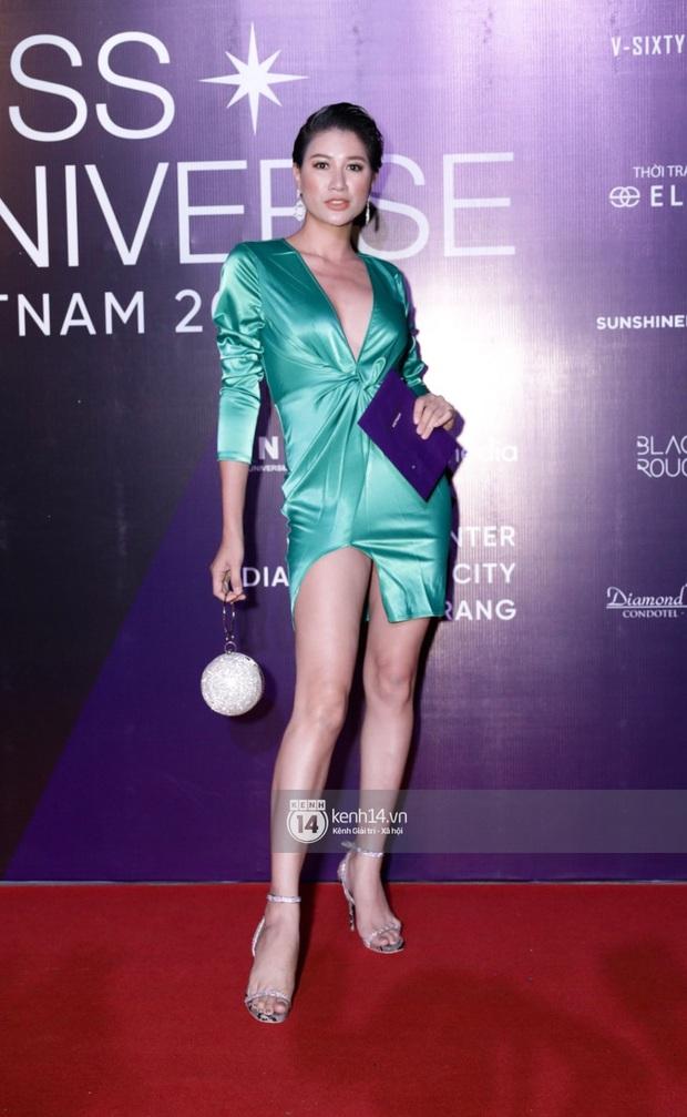 Thảm đỏ chung kết Hoa hậu Hoàn vũ: MC Hoàng Oanh sánh đôi bên chồng Tây, Thanh Hằng, Vũ Thu Phương khoe sắc vóc bên dàn mỹ nhân Vbiz - Ảnh 11.