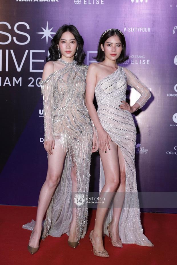 Dàn mỹ nhân, nghệ sĩ đình đám Vbiz đua nhau đọ sắc vóc lộng lẫy trên thảm đỏ chung kết Hoa hậu Hoàn vũ Việt Nam 2019 - Ảnh 1.