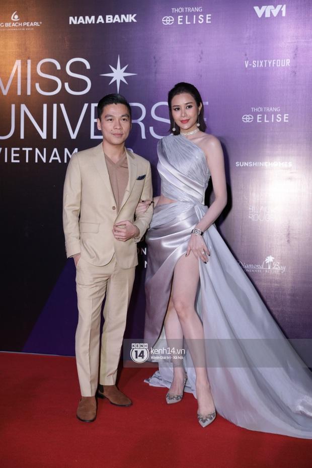Dàn mỹ nhân, nghệ sĩ đình đám Vbiz đua nhau đọ sắc vóc lộng lẫy trên thảm đỏ chung kết Hoa hậu Hoàn vũ Việt Nam 2019 - Ảnh 8.