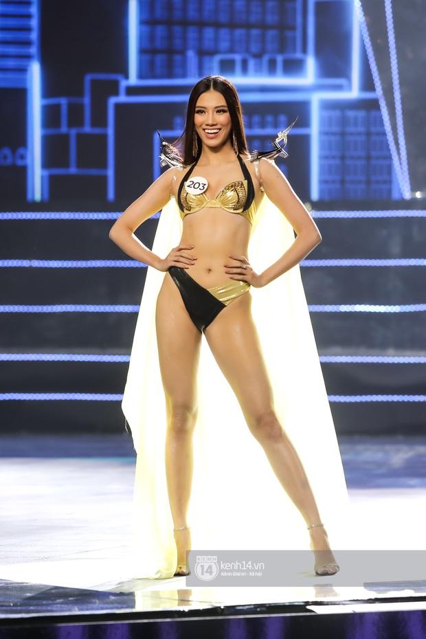 Mãn nhãn phần thi bikini nóng bỏng của Top 15 Hoa hậu Hoàn vũ Việt Nam: Toàn body đỉnh cao, trang phục ấn tượng - Ảnh 10.