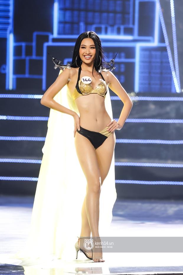 Mãn nhãn phần thi bikini nóng bỏng của Top 15 Hoa hậu Hoàn vũ Việt Nam: Toàn body đỉnh cao, trang phục ấn tượng - Ảnh 8.