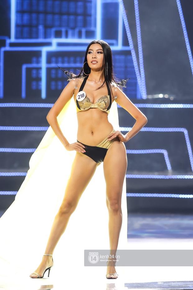 Mãn nhãn phần thi bikini nóng bỏng của Top 15 Hoa hậu Hoàn vũ Việt Nam: Toàn body đỉnh cao, trang phục ấn tượng - Ảnh 7.