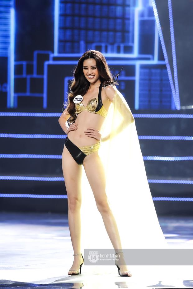 Mãn nhãn phần thi bikini nóng bỏng của Top 15 Hoa hậu Hoàn vũ Việt Nam: Toàn body đỉnh cao, trang phục ấn tượng - Ảnh 5.