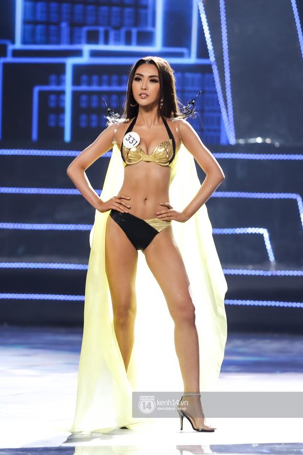Mãn nhãn phần thi bikini nóng bỏng của Top 15 Hoa hậu Hoàn vũ Việt Nam: Toàn body đỉnh cao, trang phục ấn tượng - Ảnh 3.