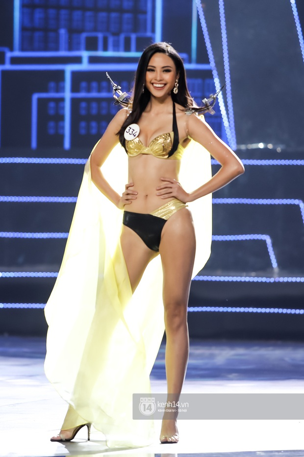 Mãn nhãn phần thi bikini nóng bỏng của Top 15 Hoa hậu Hoàn vũ Việt Nam: Toàn body đỉnh cao, trang phục ấn tượng - Ảnh 2.