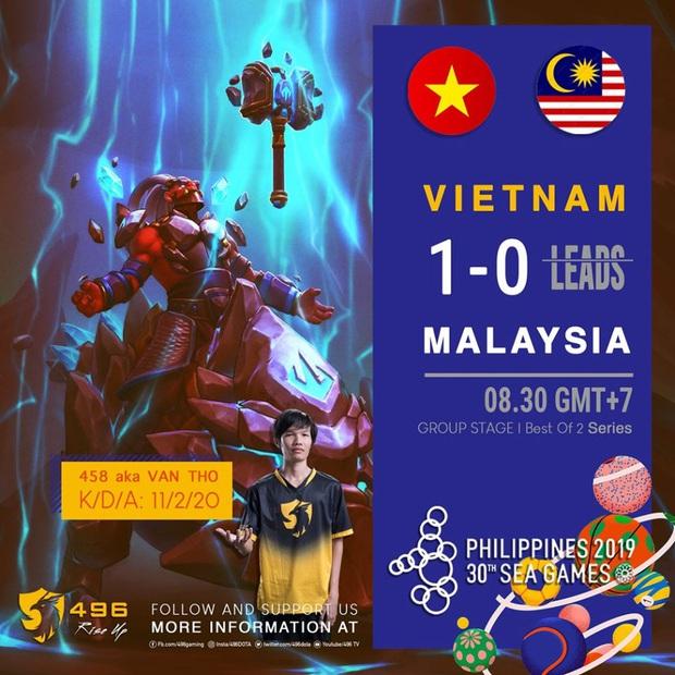 Hạ gục Thái Lan ở loạt trận tie-break, 496 chắc chắn sẽ mang về huy chương SEA Games cho đoàn eSports Việt Nam - Ảnh 2.
