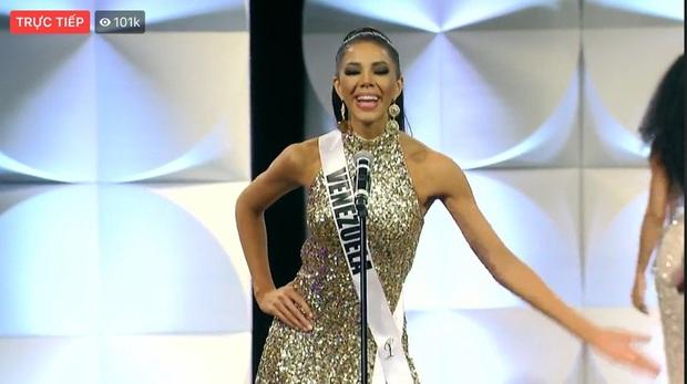 Hoàng Thùy chốt sổ thi dạ hội cùng Quốc phục Cà Phê trong đêm bán kết Miss Universe, lập tức được dự đoán Top 10! - Ảnh 16.