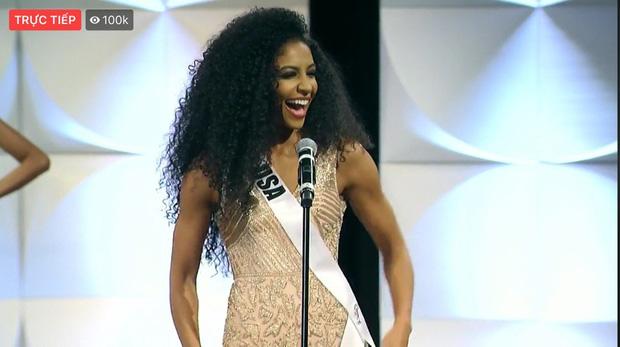 Hoàng Thùy chốt sổ thi dạ hội cùng Quốc phục Cà Phê trong đêm bán kết Miss Universe, lập tức được dự đoán Top 10! - Ảnh 18.