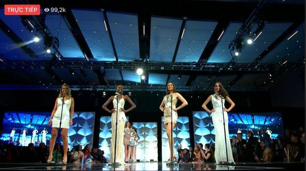 Hoàng Thùy chốt sổ thi dạ hội cùng Quốc phục Cà Phê trong đêm bán kết Miss Universe, lập tức được dự đoán Top 10! - Ảnh 19.