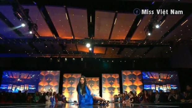 Hoàng Thùy chốt sổ thi dạ hội cùng Quốc phục Cà Phê trong đêm bán kết Miss Universe, lập tức được dự đoán Top 10! - Ảnh 10.