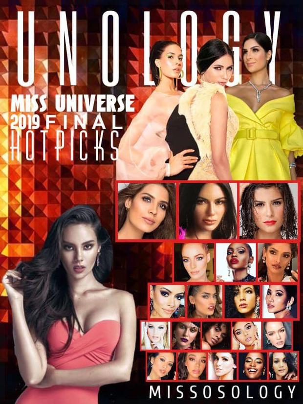 Missosology đưa Hoàng Thùy trở lại Top 10 sau đêm thi bán kết Miss Universe 2019 dù trước đó ngó lơ đại diện Việt Nam - Ảnh 1.