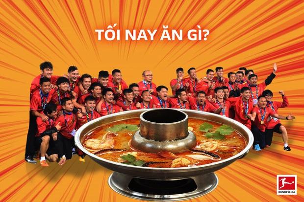 Sau khi đã cho dân tình ăn chán lẩu Thái, đội tuyển Việt Nam liền mang đến ngay một món mới: Cam ép! - Ảnh 1.