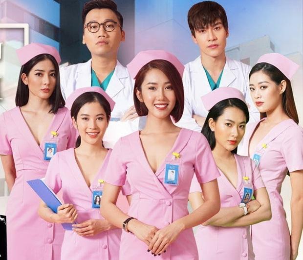 Tân Hoa Hậu Hoàn Vũ Khánh Vân thì ra chính là nữ điều dưỡng lẳng lơ nhất Bệnh Viện Thần Ái - Ảnh 4.