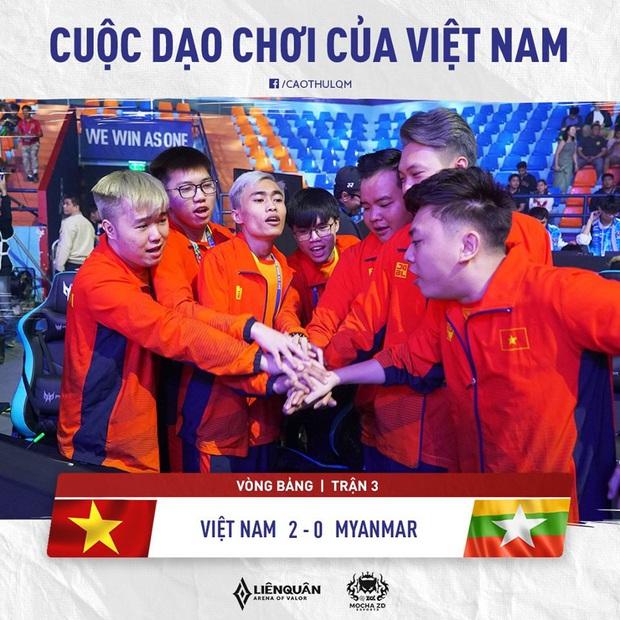SEA Games 30: Đội tuyển Liên Quân Mobile Việt Nam xếp nhì bảng A, bước tiếp vào vòng play-off! - Ảnh 5.