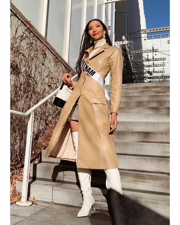 Hoàng Thùy tại Miss Universe 2019: Trang phục đầu tư đã đành, giày cao gót cũng chưa đôi nào đi lại lần 2 kể từ khi sang Mỹ  - Ảnh 11.