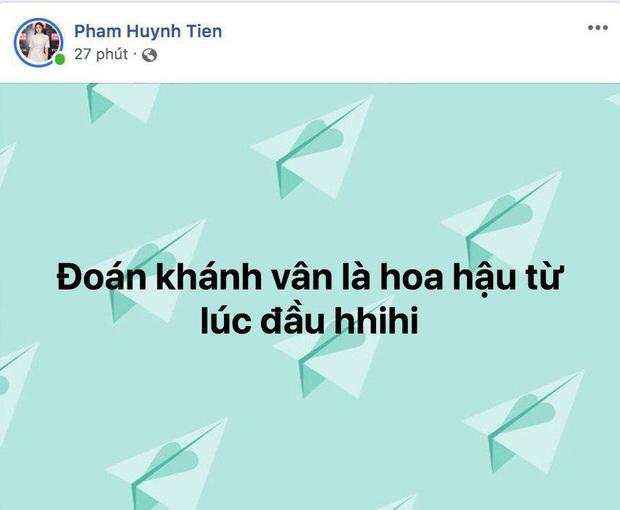 Dàn sao Vbiz nô nức chúc mừng Nguyễn Trần Khánh Vân chính thức đăng quang ngôi vị Tân Hoa hậu Hoàn vũ Việt Nam 2019 - Ảnh 4.