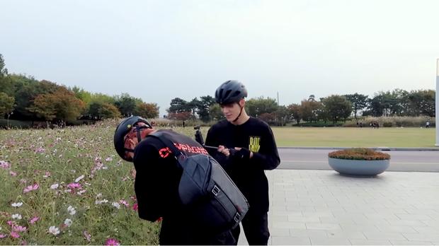Jaemin và Jeno (NCT) cũng bắt trend nhiệt tình, rủ nhau đi chụp ảnh check in với đồng cỏ hồng và cỏ lau cực hot ở Hàn Quốc - Ảnh 8.