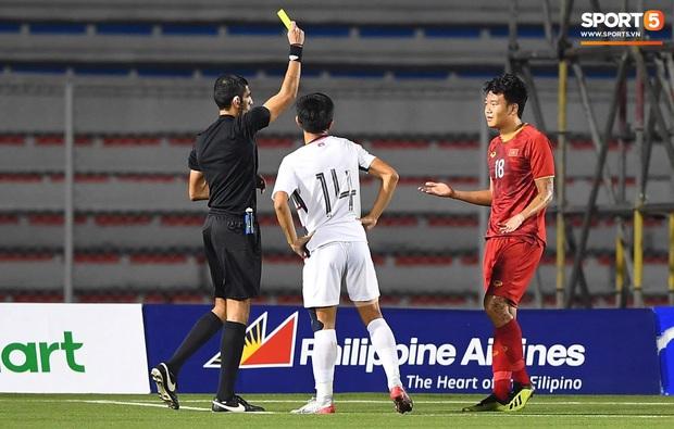 Cầu thủ gốc Việt của Campuchia đấm thẳng mặt Thành Chung trong trận bán kết SEA Games 2019 - Ảnh 3.