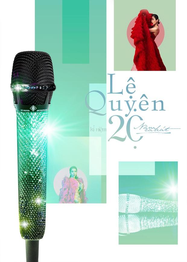 Lệ Quyên mua chiếc micro đắt nhất thế giới dùng cho Taylor Swift, Celine Dion đầu tư trong Q Show 2, tiện tay dát thêm pha lê cầm cho mượt! - Ảnh 1.