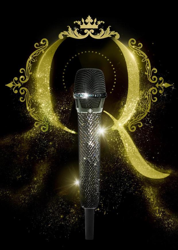 Lệ Quyên mua chiếc micro đắt nhất thế giới dùng cho Taylor Swift, Celine Dion đầu tư trong Q Show 2, tiện tay dát thêm pha lê cầm cho mượt! - Ảnh 5.