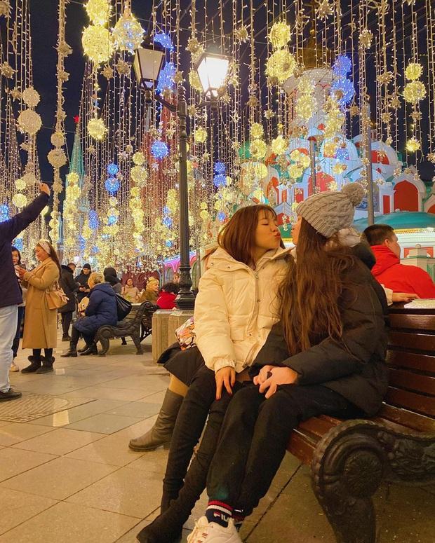 Yến Xuân qua Nga ra mắt, cùng gia đình Lâm Tây trang trí Noel: Ra dáng người một nhà lắm rồi nhé! - Ảnh 7.