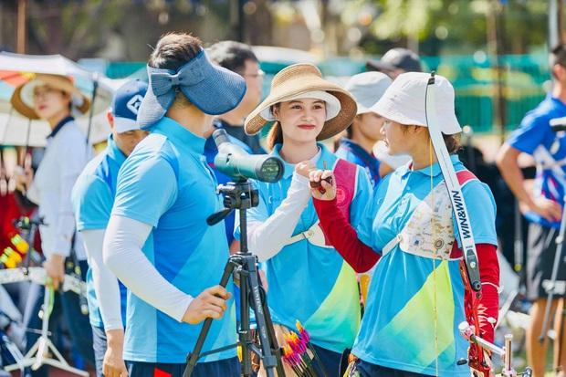 Nhan sắc nữ VĐV bóng rổ Việt Nam chuyển sang bắn cung, giành HCV SEA Games ngay lần đầu tham dự - Ảnh 2.